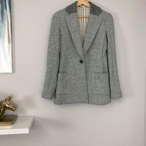 James Perse Grey Blazer Sweater Jacket